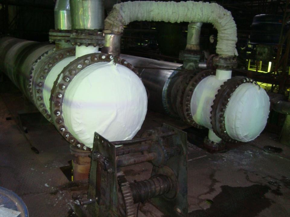 Материал для теплоизоляции теплообменников Кожухотрубный испаритель Alfa Laval DM1-227-2 Улан-Удэ